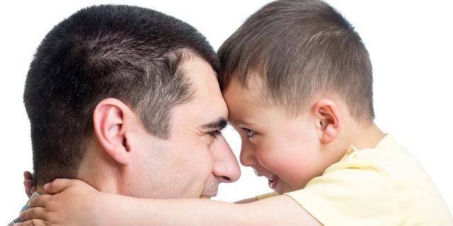 Come si riconosce un bravo papà?