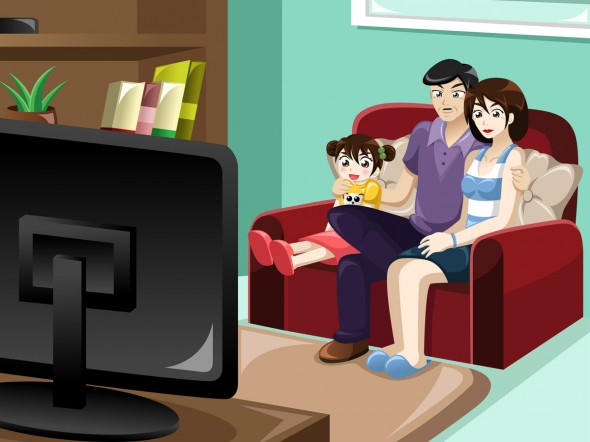 Cartoni animati possono traumatizzare i bambini bimbi