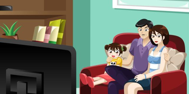 Cartoni animati possono traumatizzare i bambini bimbi sani e belli