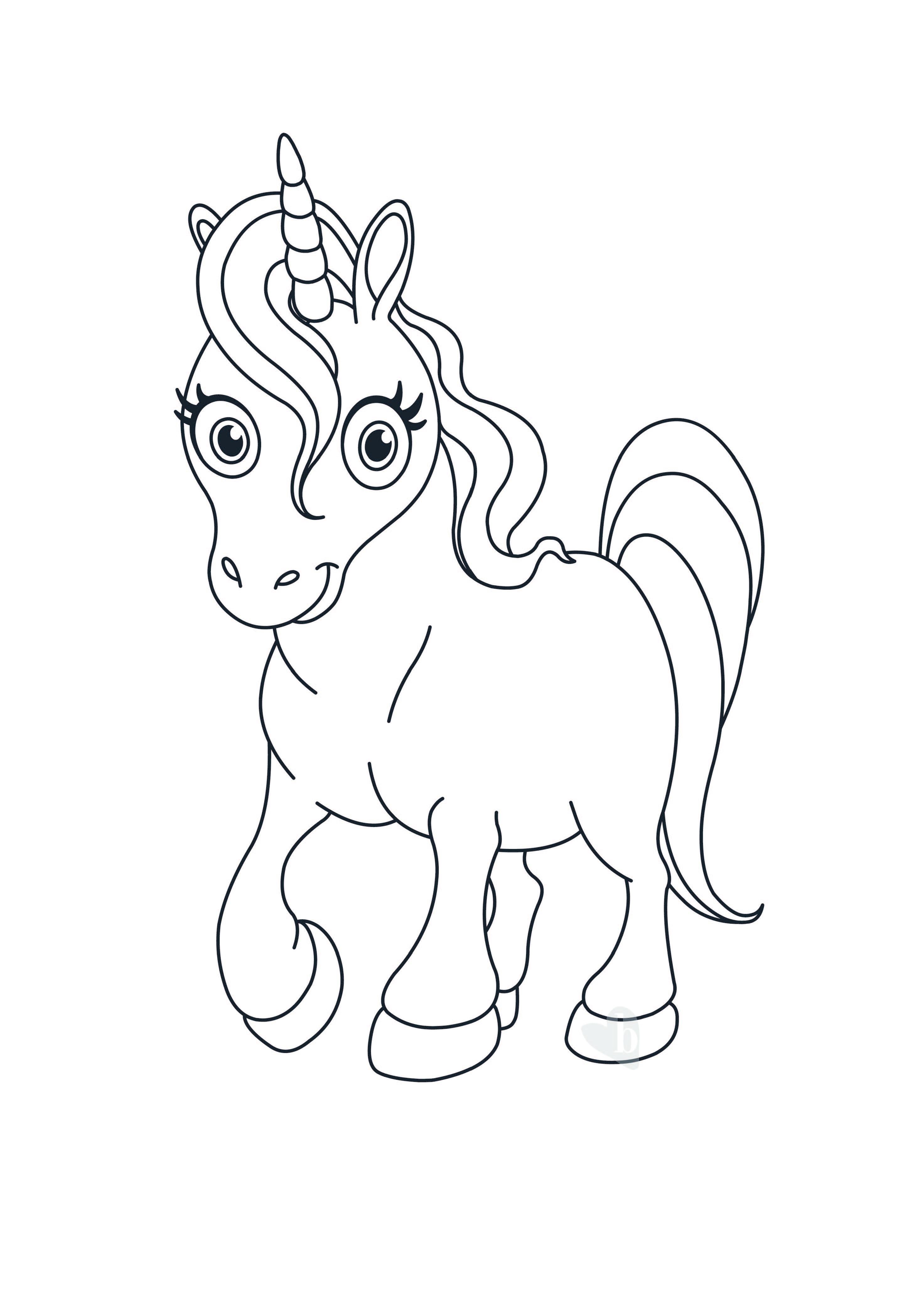 Unicorno bimbi sani e belli for Disegni da colorare tumblr