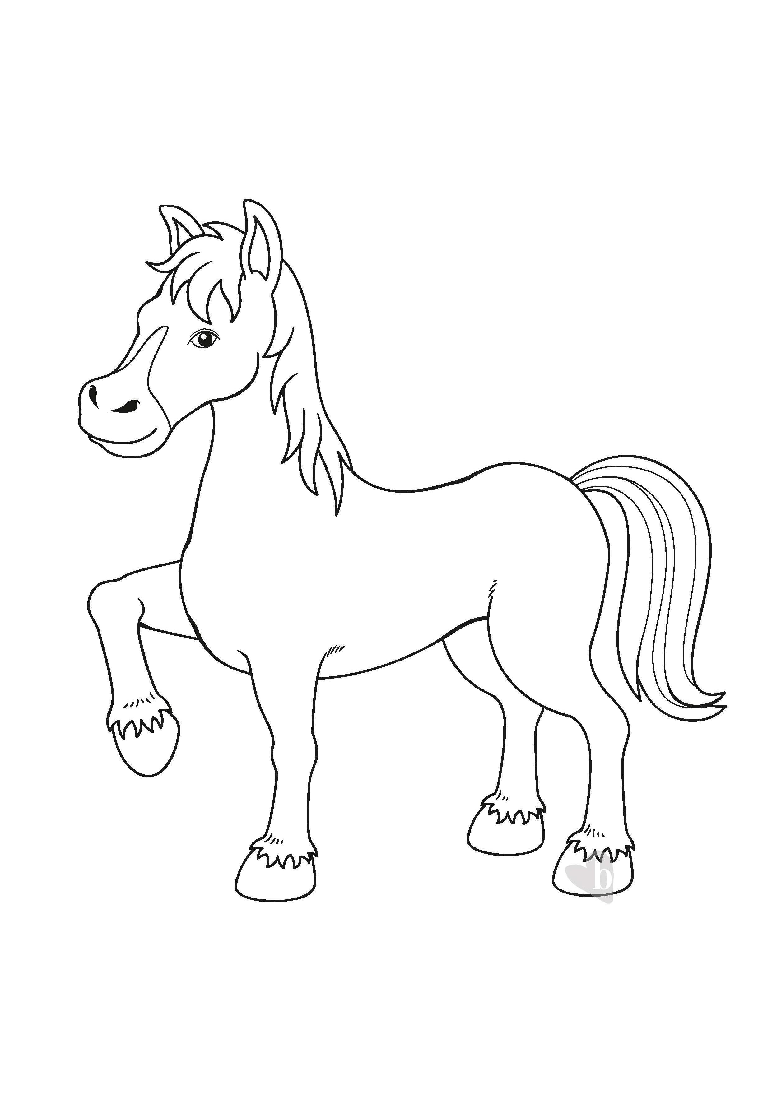 Cavallo bimbi sani e belli for Disegno cavallo stilizzato