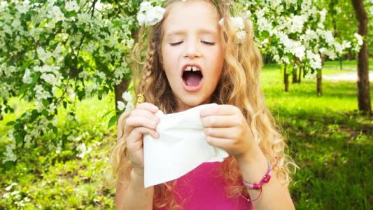 Allergie: in Italia ne soffre un bambino su quattro