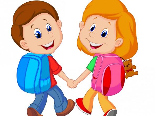Risultati immagini per bimbi a scuola