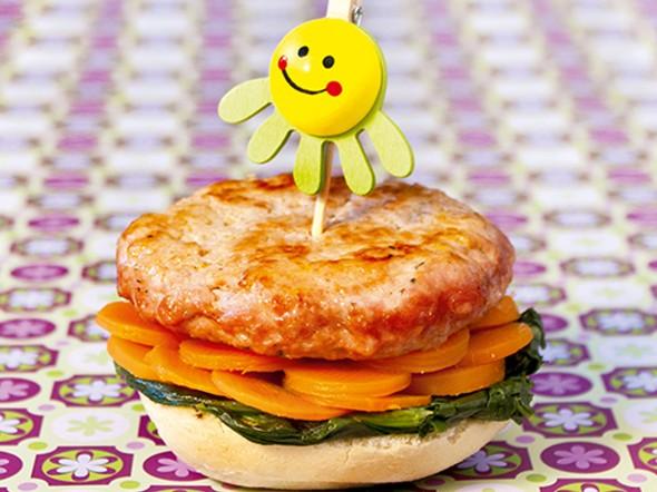 Burger tricolore