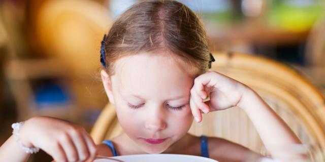 Sempre più numerose le bambine a dieta