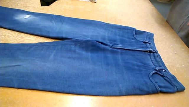 jeans asportare cerniera
