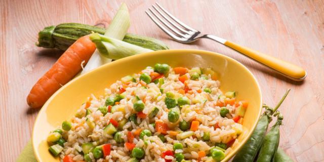 La prima insalata di riso