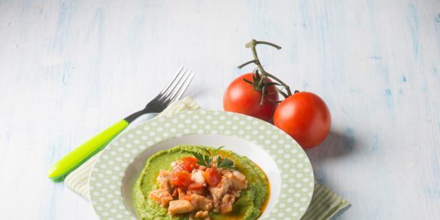 Spezzatino in crema di verdure