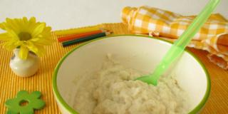 Crema di riso alla trota