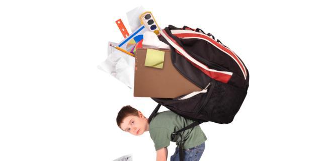 Scuola: attenzione al mal di schiena