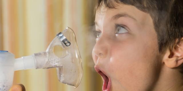 Aerosol ai bambini: inutile nella metà dei casi