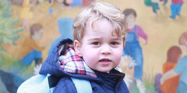 Il principe George va all'asilo