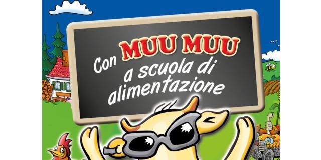 A scuola di alimentazione con la mucca Muu Muu