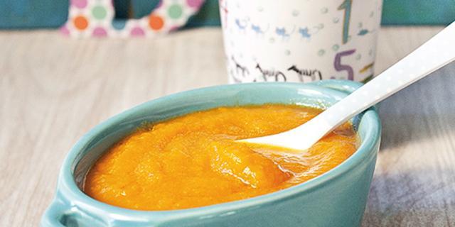 Crema di mele, carote e cipolle