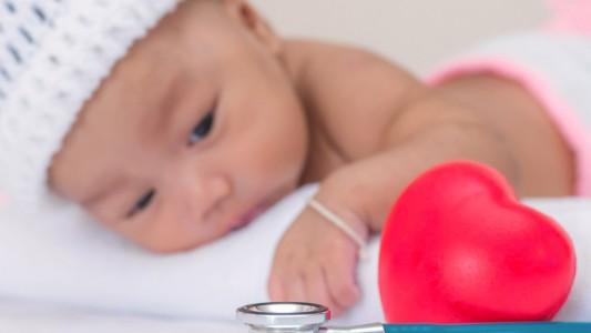 Cardiopatie congenite: colpiti 8 neonati su 100
