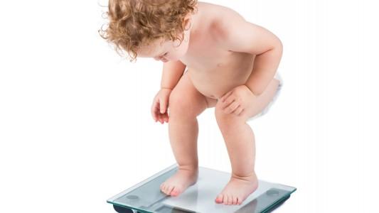Obesità infantile per 6 bimbi su 10 sotto i 5 anni