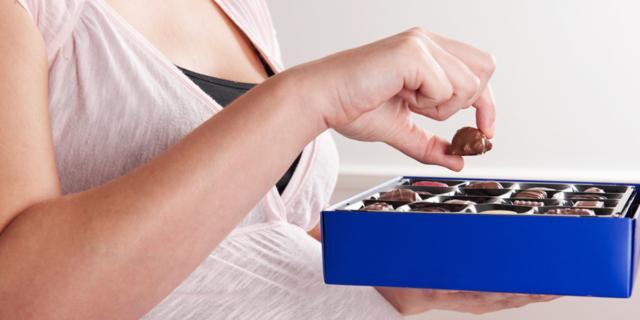 Cioccolato in gravidanza? Fa bene anche al bebè