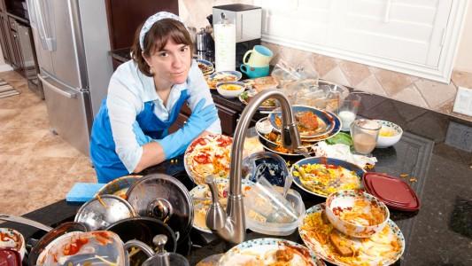 Cucina in disordine? Più facile ingrassare