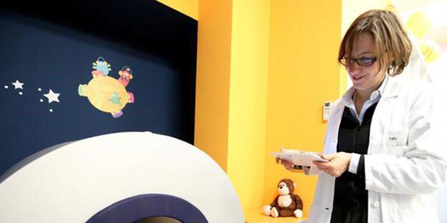 Risonanza magnetica: ora è a misura di bambino