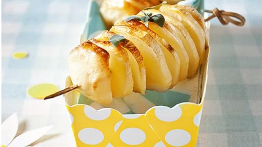 Spiedini di patata a soffietto