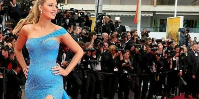 Blake Lively: il pancione è sempre più social, anche a Cannes!