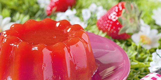Gelatine di fragole