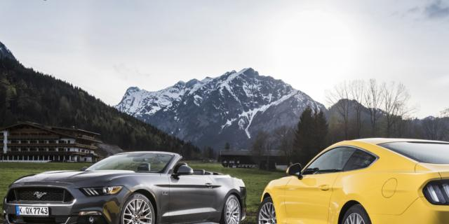 Ford Mustang: l'auto per vacanze da sogno