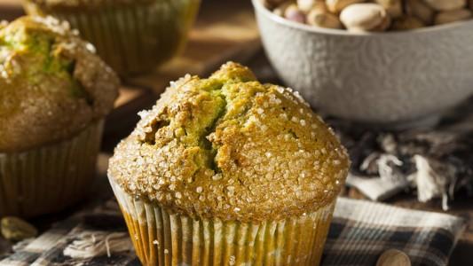 Muffin ai pistacchi