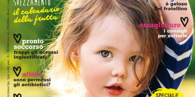 In edicola dal 10 Agosto il nuovo numero di Bimbisani & belli di Settembre
