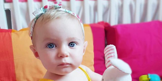 Isabel è la bimba del giorno!