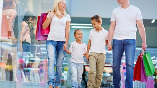 Shopping: le regole con i bambini