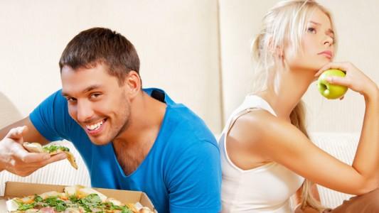 Divorzio: fa cambiare la dieta di lui (in peggio)