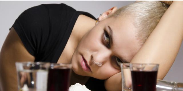 Baby-dipendenti da alcol e droghe