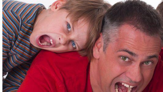 Papà stressato?  Lo sviluppo dei figli ne risente