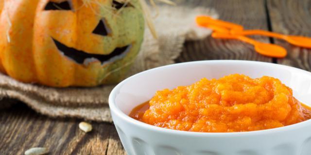 Crema di zucca di Halloween