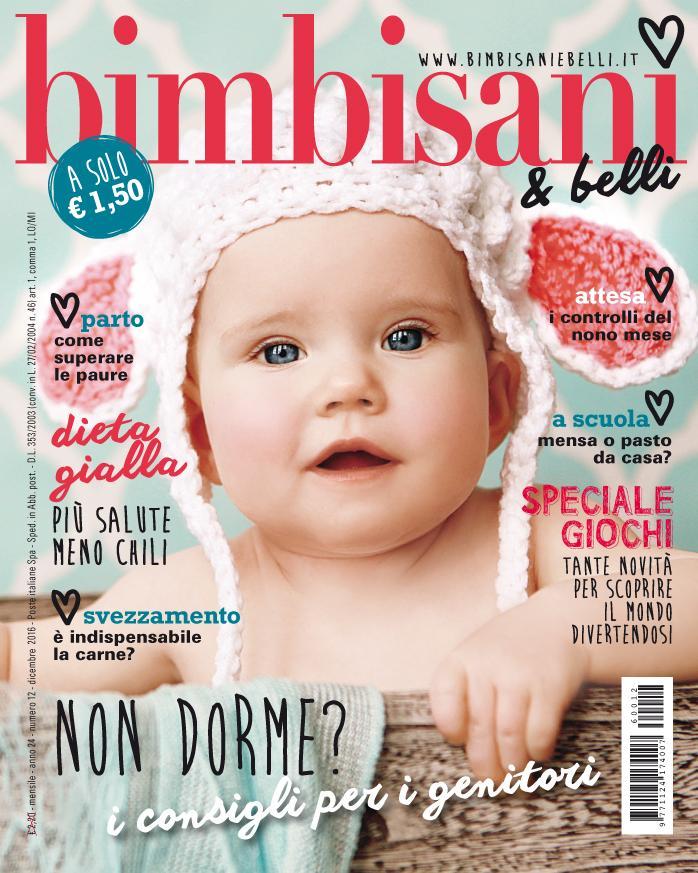 In edicola dal 10 Novembre il nuovo numero di Bimbisani & belli di Dicembre