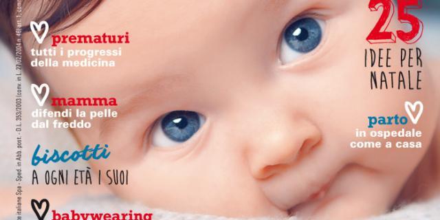 In edicola dal 10 Dicembre il nuovo numero di Bimbisani & belli di Gennaio