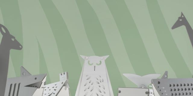 Lampade collezione Zoo, Cartunia Design