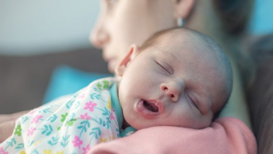 Depressione post parto: inizia già in gravidanza