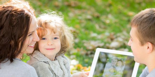 Foto dei bambini sui social: ecco le regole