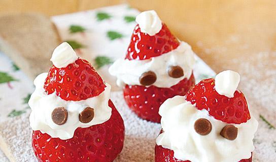 Fragoloni di Babbo Natale