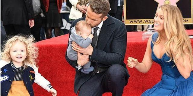 Ryan Reynolds, un papà stellare