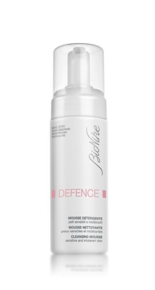 Mousse detergente linea Defence, BioNike