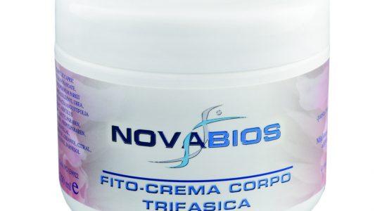 Fito-crema corpo trifasica, Novabios