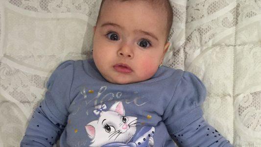 Alisya è la bimba del giorno