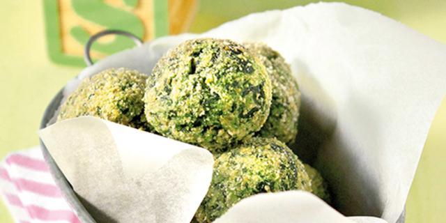 Crocchette di ricotta e spinaci