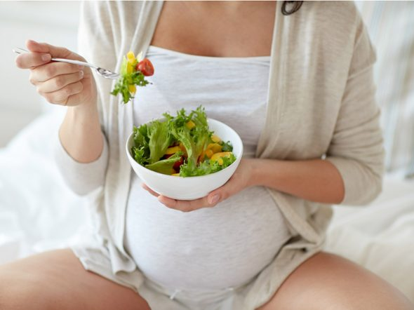 Parto prematuro: più rischi con la dieta vegana