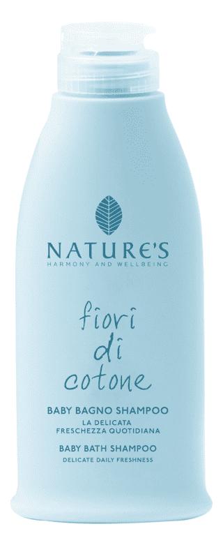 Baby Bagno Shampoo Fiori di Cotone, Nature's