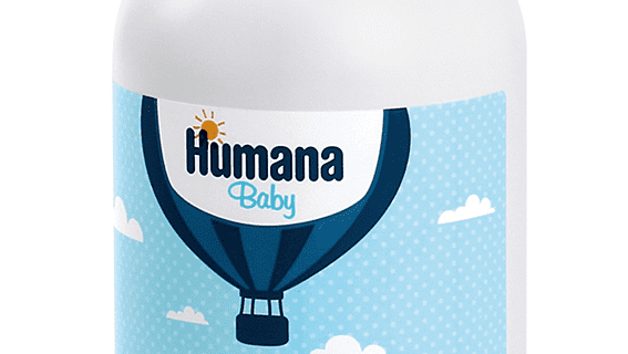 Bagnoschiuma Ultradelicato, Humana Baby