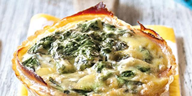 Tortino agli spinaci e ricotta